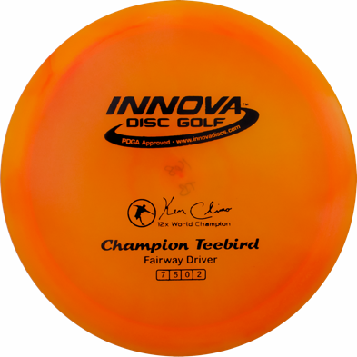 Champion plastic for innova teebird
